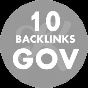 10 Backlinks em site Gov