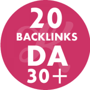 20 Backlinks em site DA30+