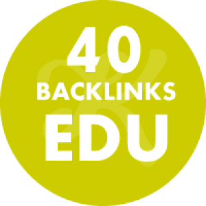 40 Backlinks em site Edu