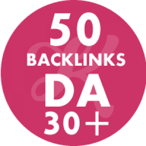 50 Backlinks em site DA30+