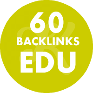 60 Backlinks em site Edu