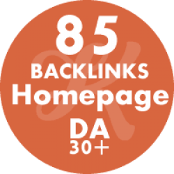 85 Backlinks Homepage DA42+